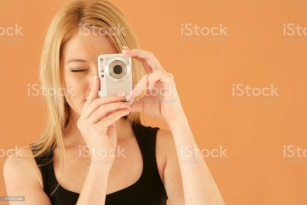 Camera Clicks royalty-free stock photo
