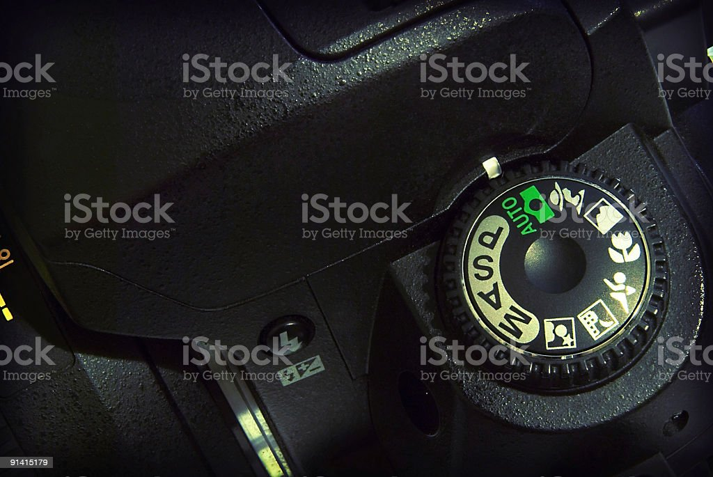 Camera Control stock photo