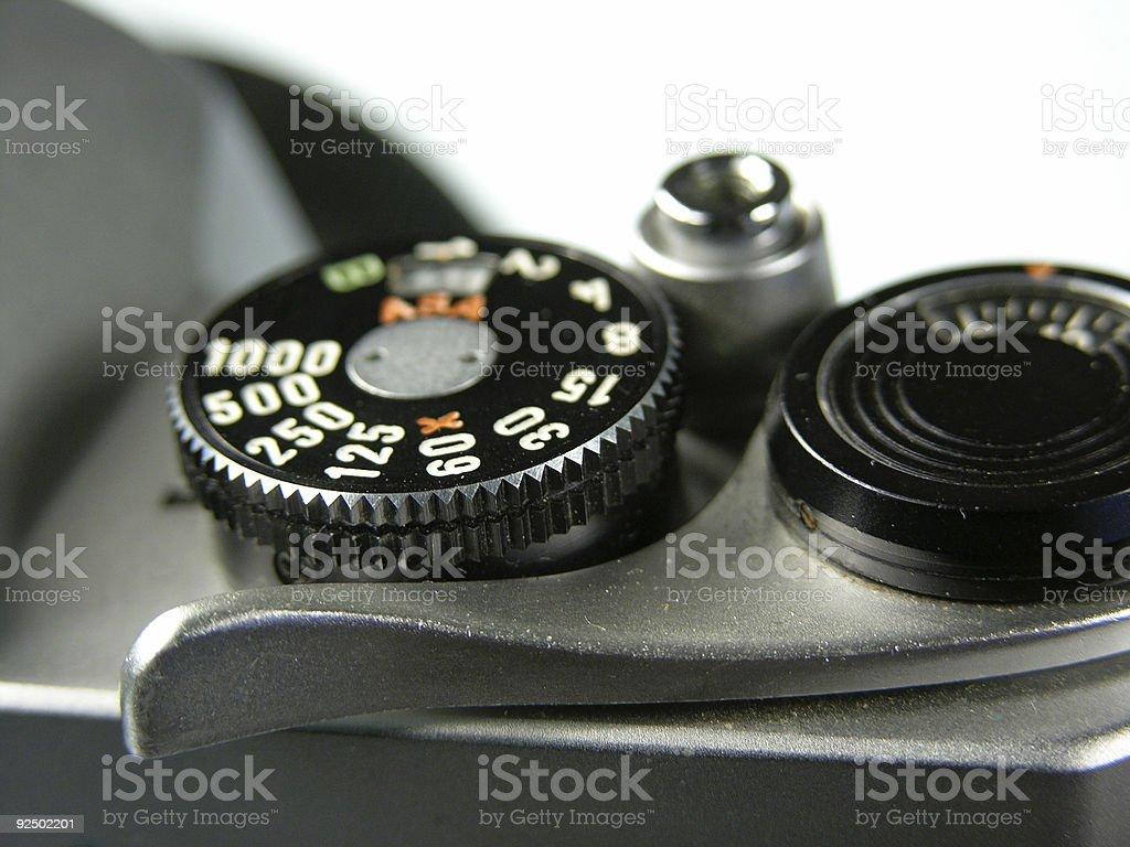 Kamera Kontrollen Lizenzfreies stock-foto