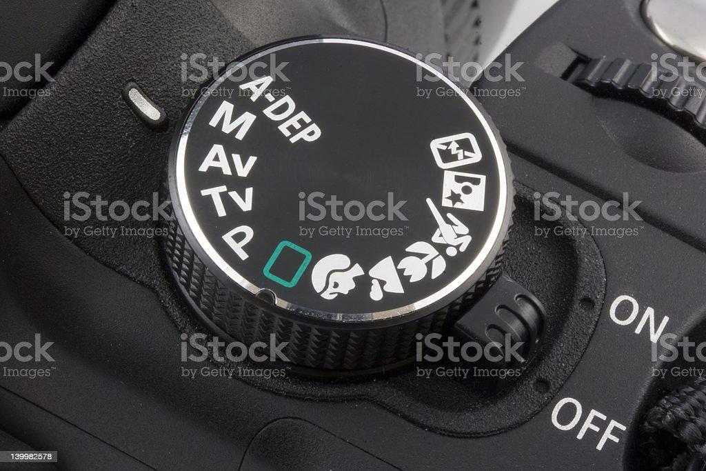 camera dial stock photo