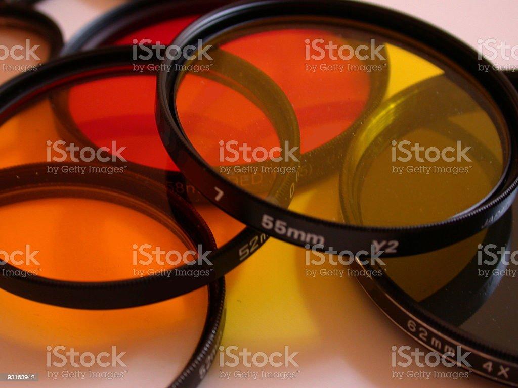 camera filters royalty-free stock photo