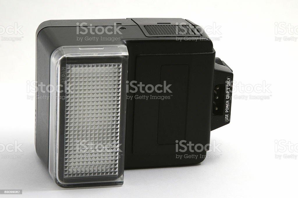 Flash de cámara foto de stock libre de derechos