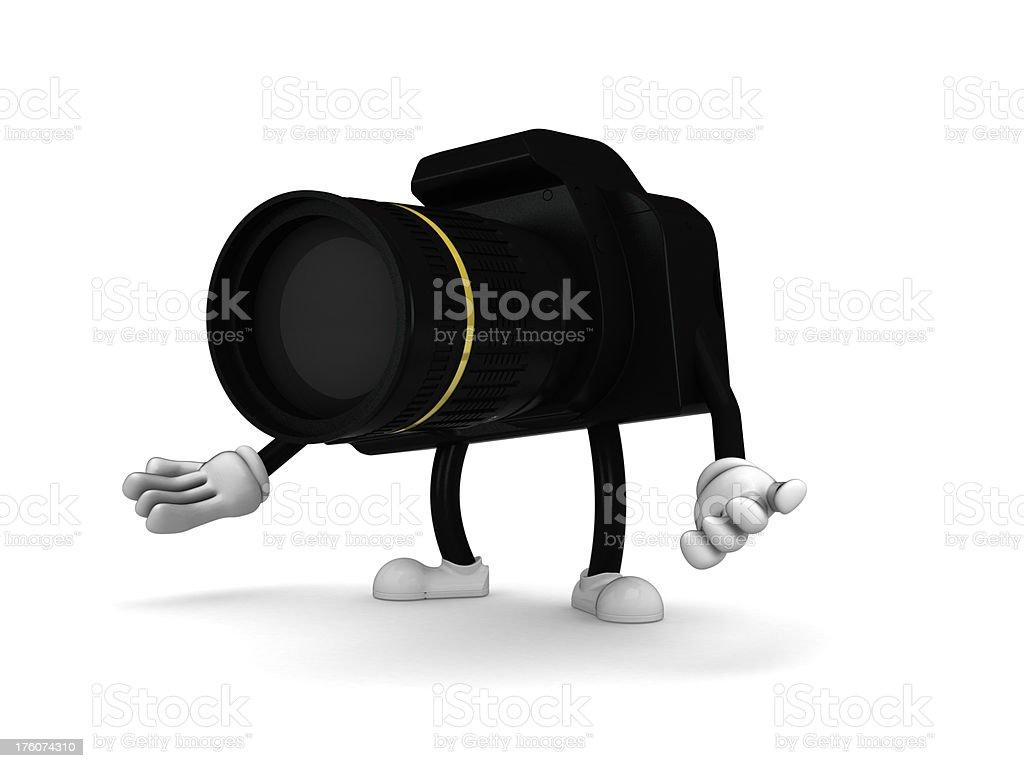 Camera guy stock photo