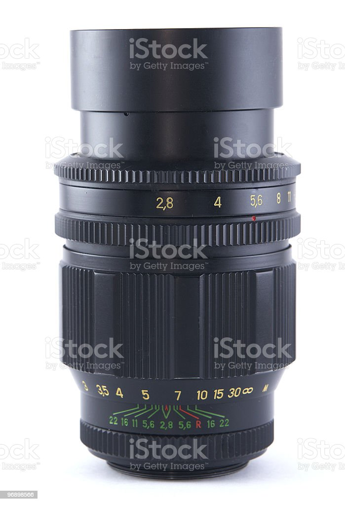 Camera lenc royalty-free stock photo