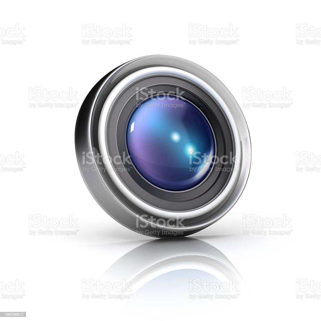 camera lens icon royalty-free stock photo