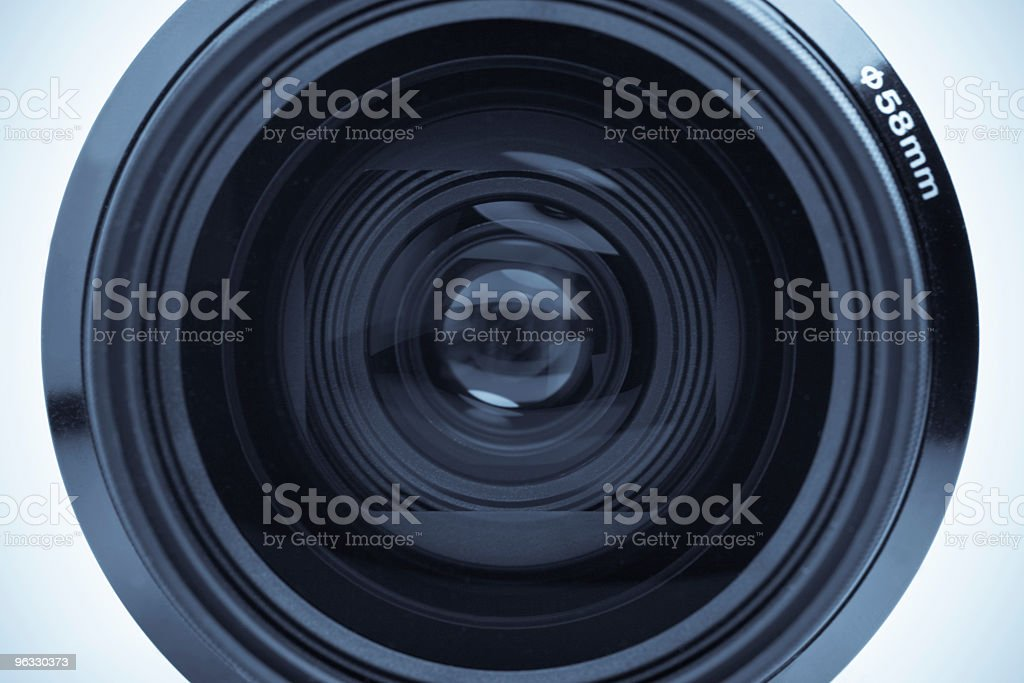 Camera lens macro royalty-free stock photo