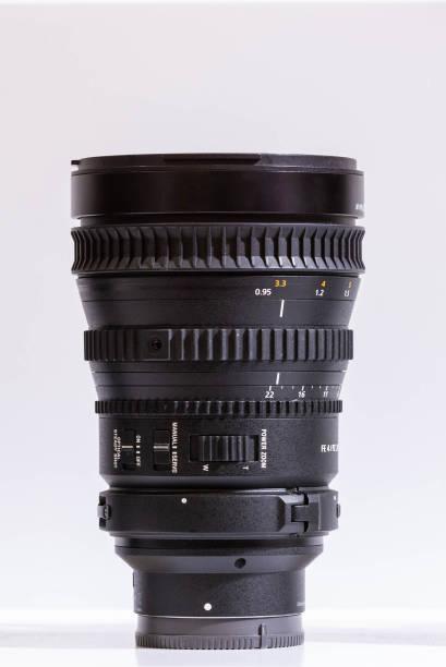 slr camera lens - telelens stockfoto's en -beelden