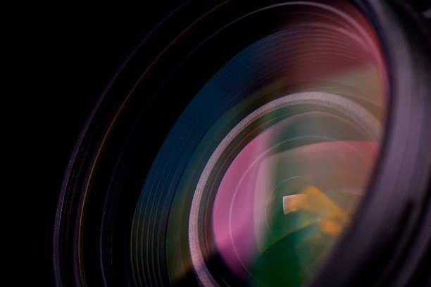 lentille de la caméra - convexe photos et images de collection