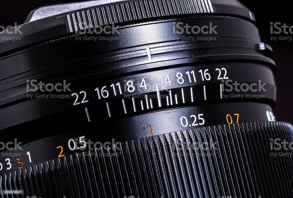 Camera lens royalty-free stock photo