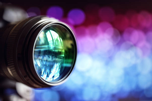 camera lens - photography themes stock photos and pictures