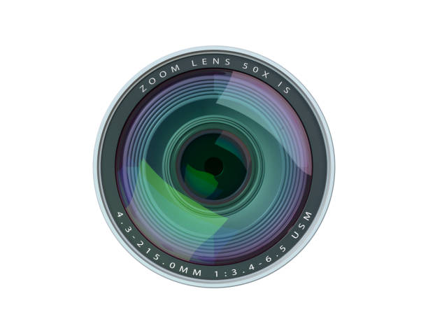 camera lens - home video camera stock photos and pictures