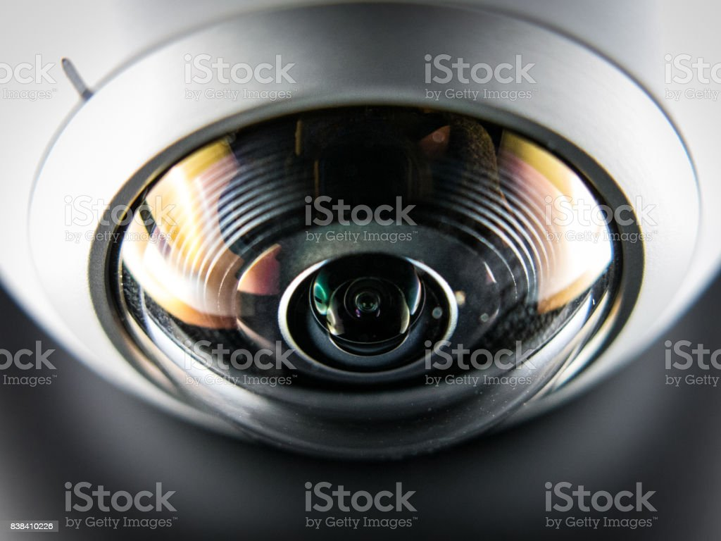360 camera lens stock photo