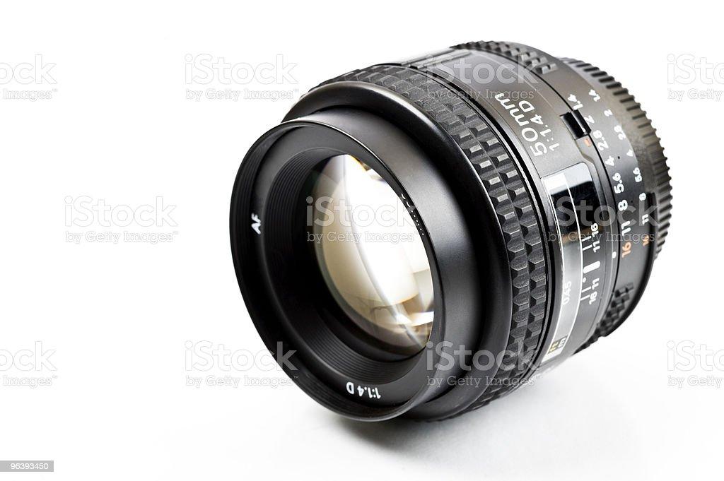 Camera lens - Royalty-free Black Color Stock Photo