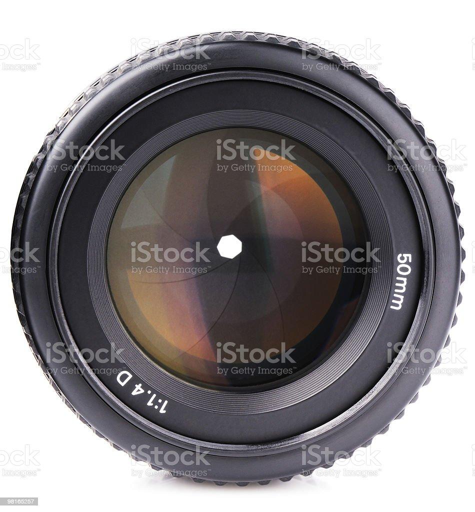 Obiettivo della telecamera foto stock royalty-free