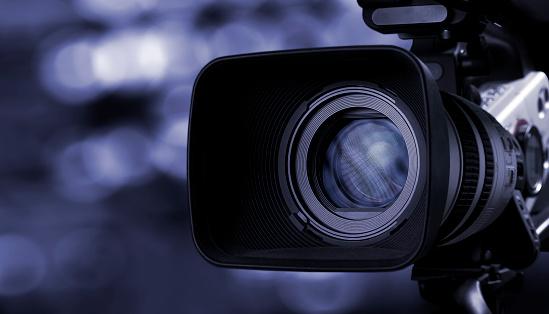 Digital camera lens with copy space