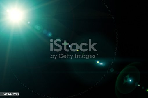istock Camera lens with lense reflections. 842448558