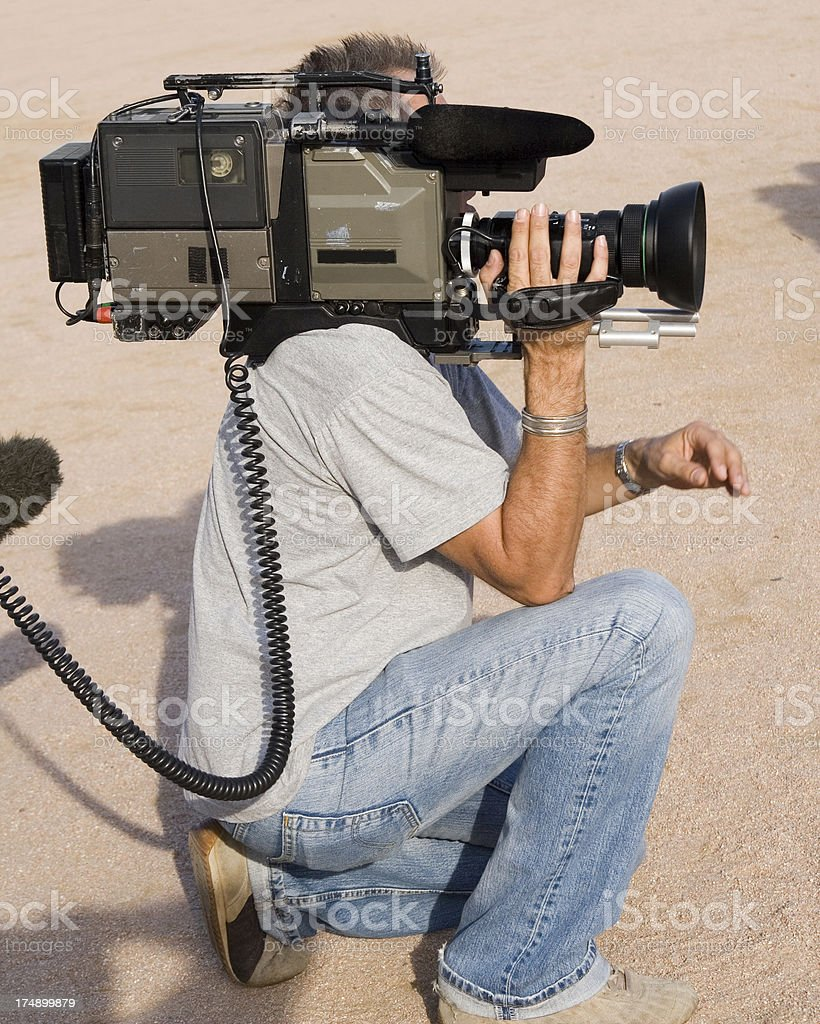 camera man royalty-free stock photo