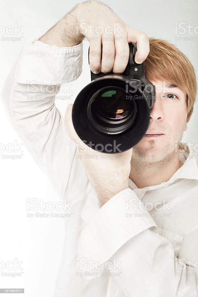 Camera Men royalty-free stock photo