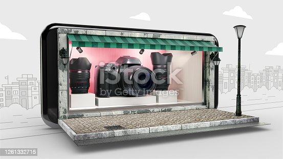 Camera - Photographic Equipment, Movie Camera, Online Shopping, Display Cabinet, Smart Phone