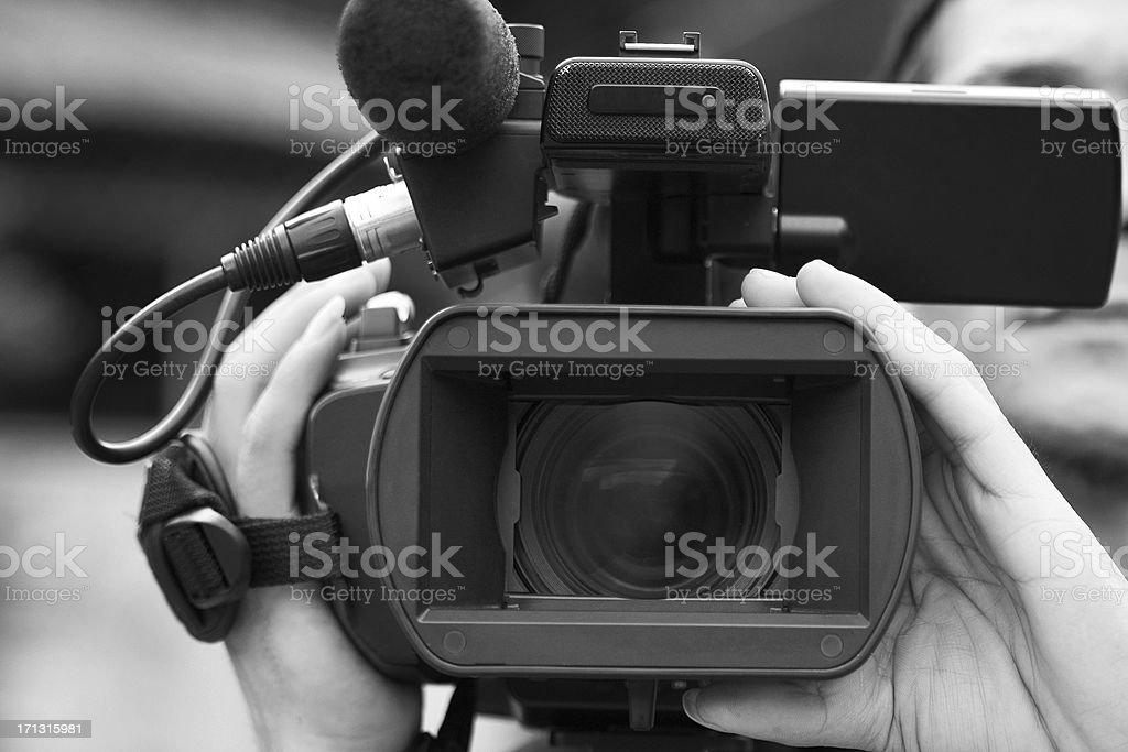 Camera Operator royalty-free stock photo
