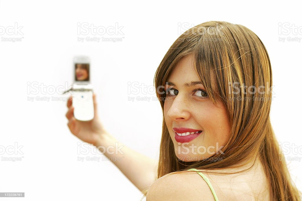 Camera Phone royalty-free stock photo
