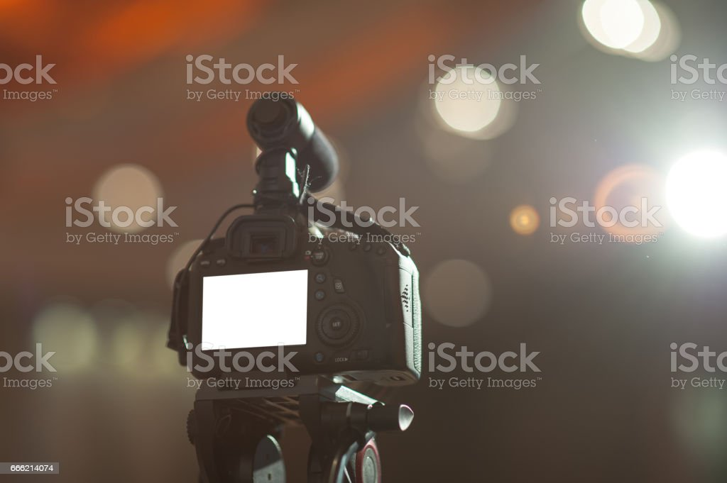 Camera Photography, Photographer Working photo&vdo stock photo