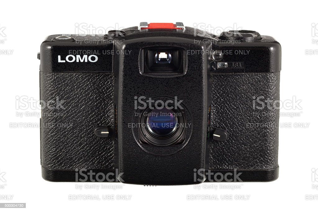 LOMO LC-A Camera stock photo