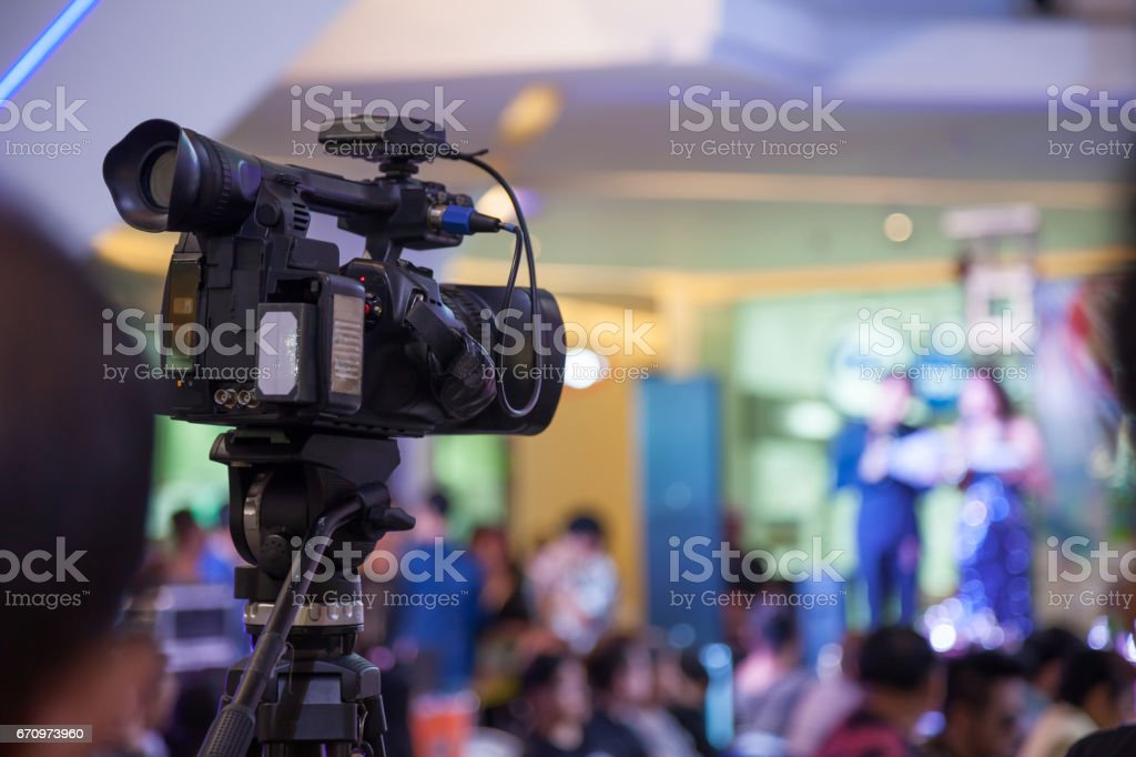 VDO camera stock photo