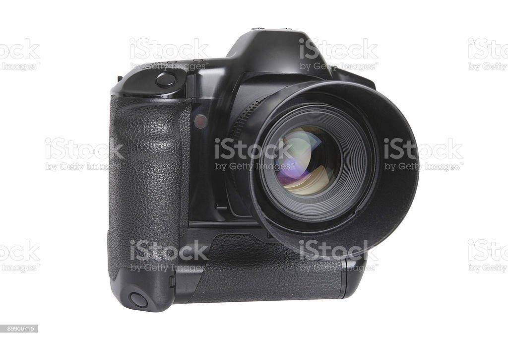 Spiegelreflexkamera (isoliert Lizenzfreies stock-foto