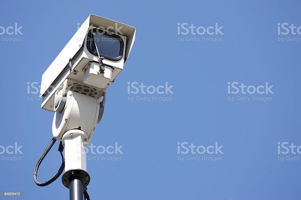 CCTV camera royalty-free stock photo