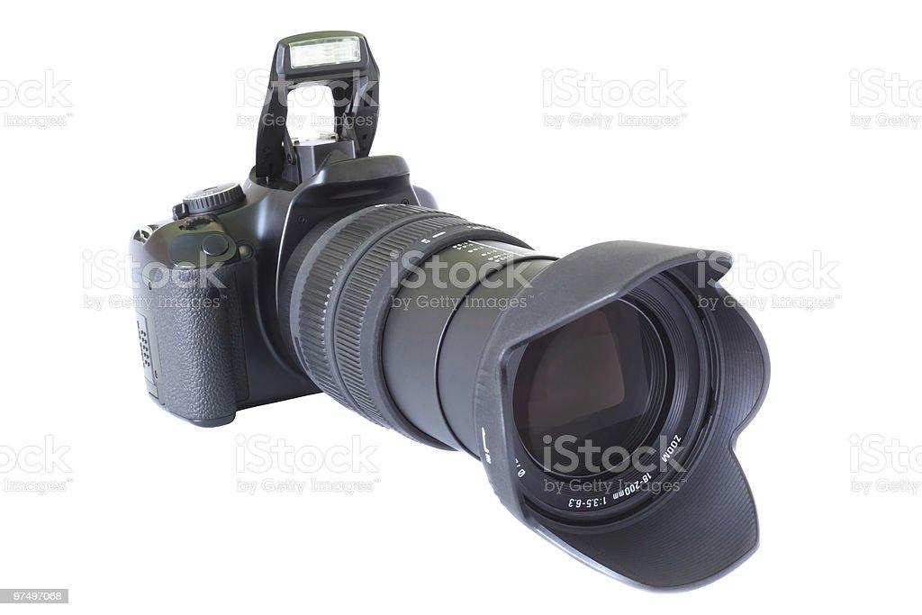 DSLR camera royalty-free stock photo