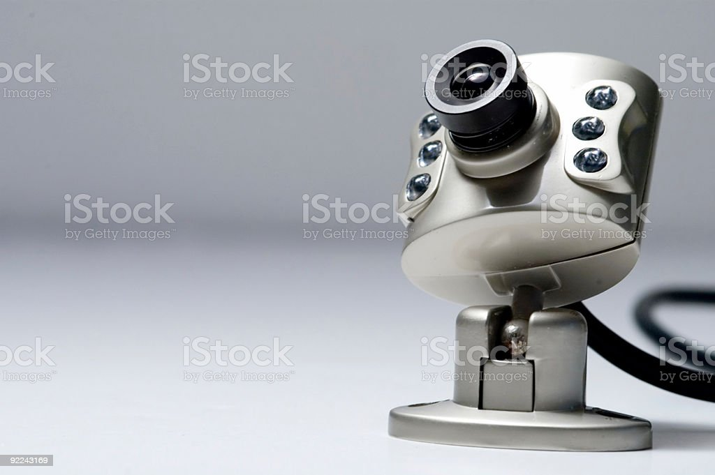 Camera - Security Cam 2 royalty-free stock photo