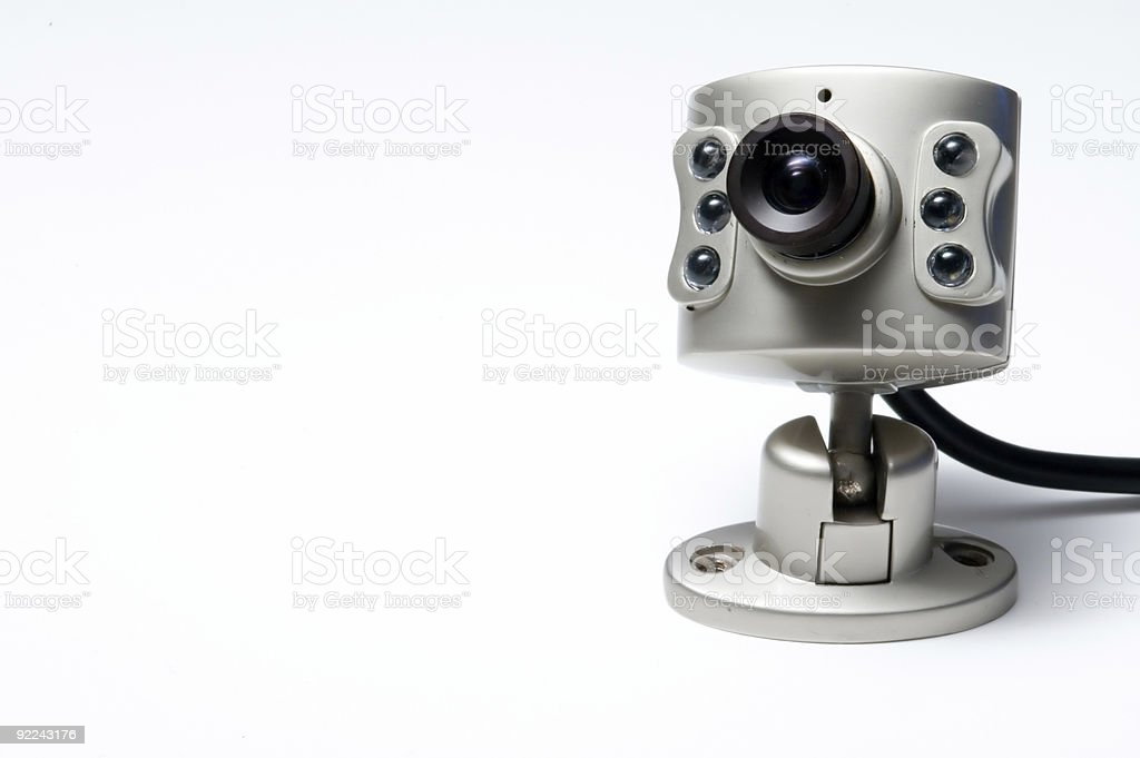 Camera - Security Cam3 royalty-free stock photo