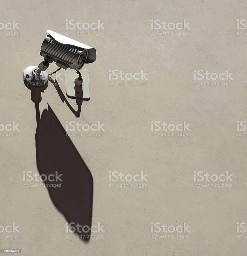 Camera Security royalty-free stock photo