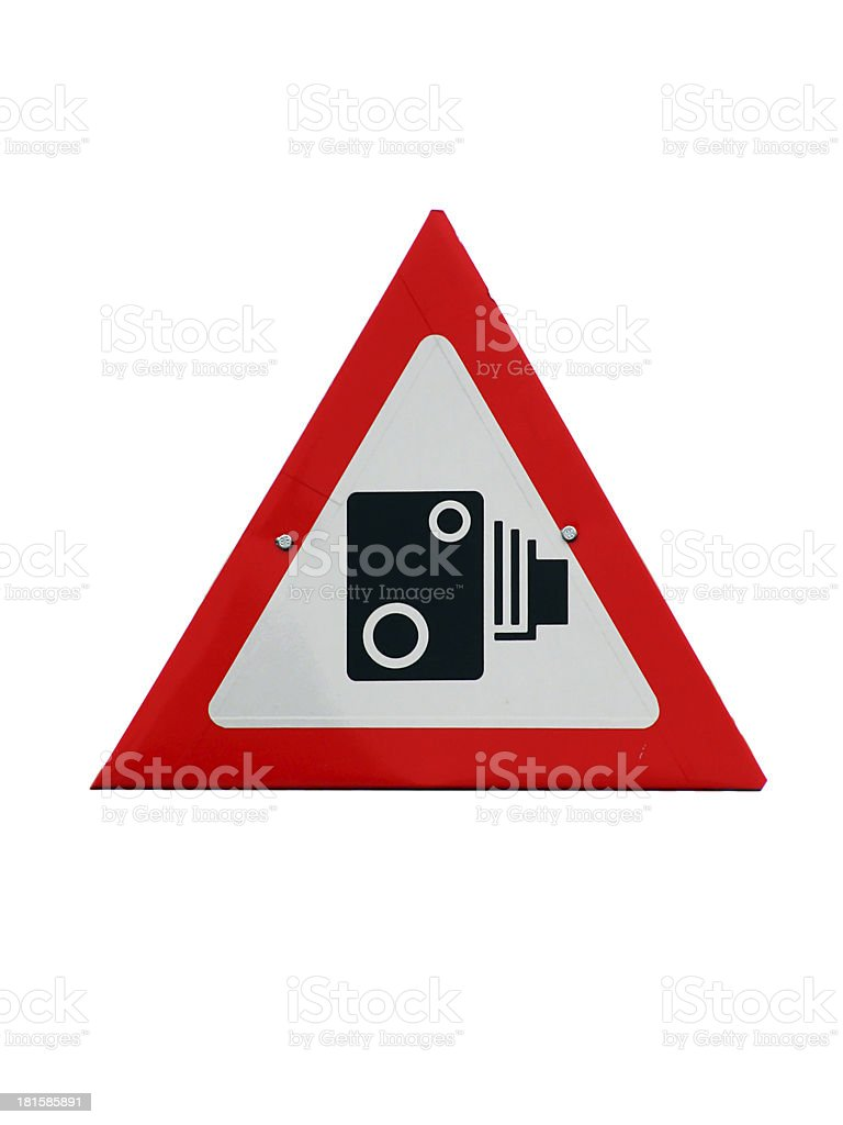 camera sign royalty-free stock photo