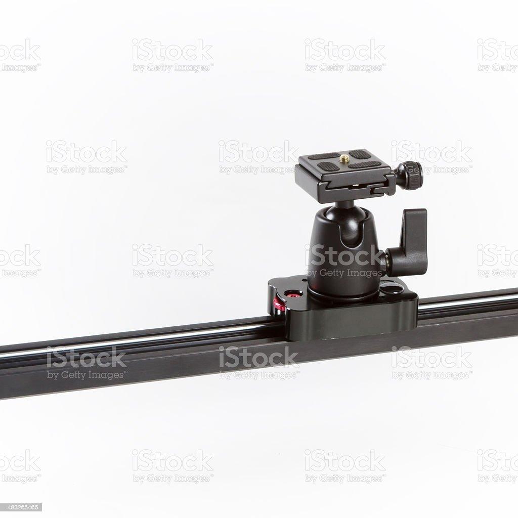 Camera Slider stock photo