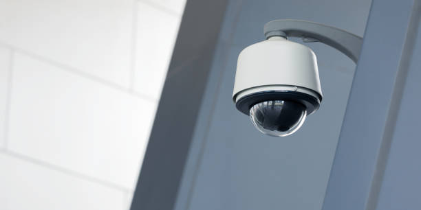 camera bewaking - bewakingscamera stockfoto's en -beelden