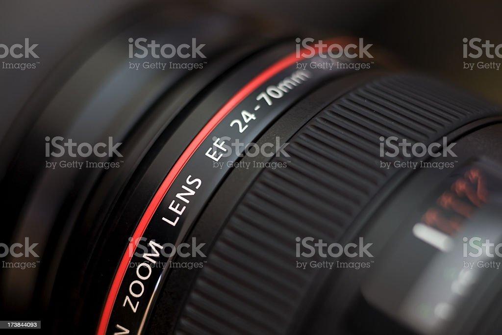 Camera Zoom Lens stock photo