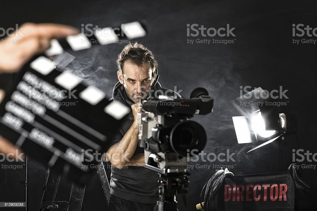 Kameramann im set – Foto