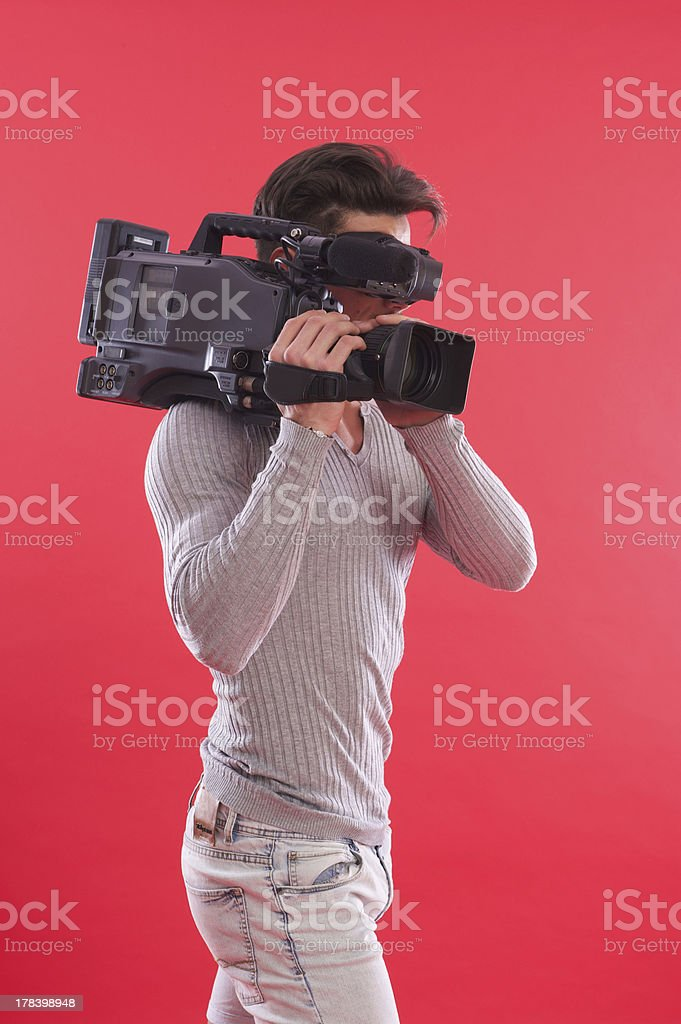 cameraman royalty-free stock photo