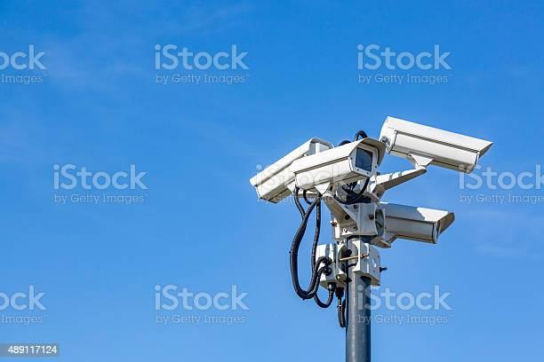 Videokameras am Nordpol - Lizenzfrei 2015 Stock-Foto