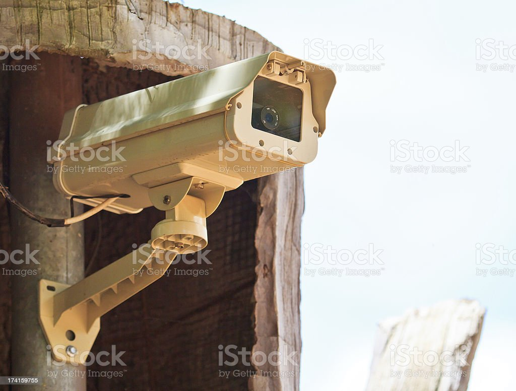 CCTV cameras royalty-free stock photo