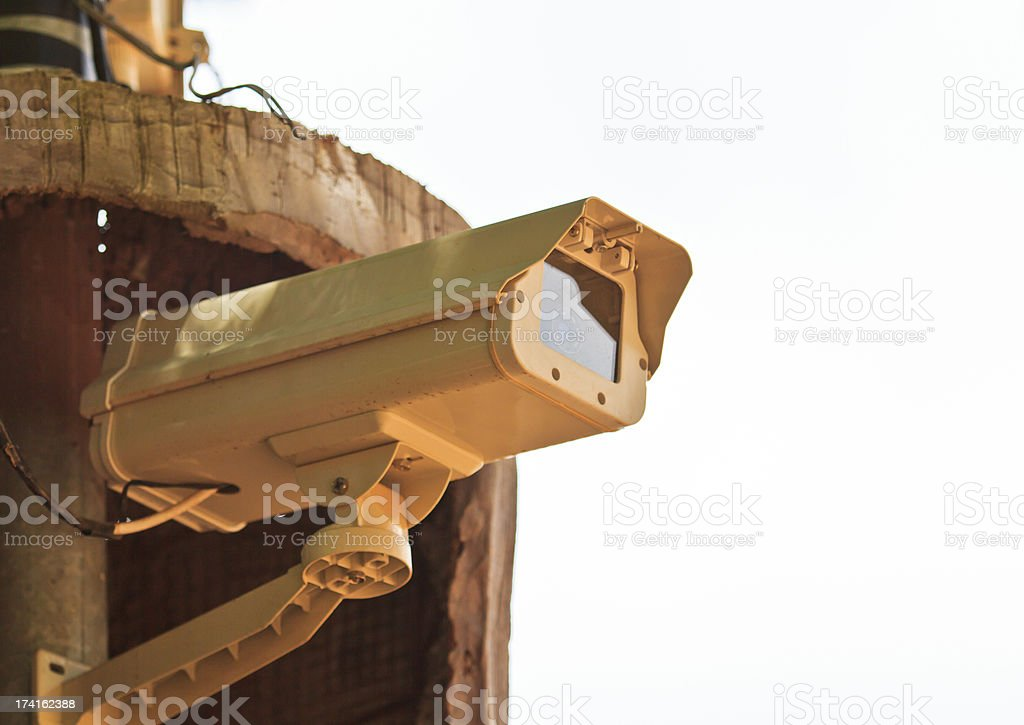 CCTV cameras royalty-free stock photo