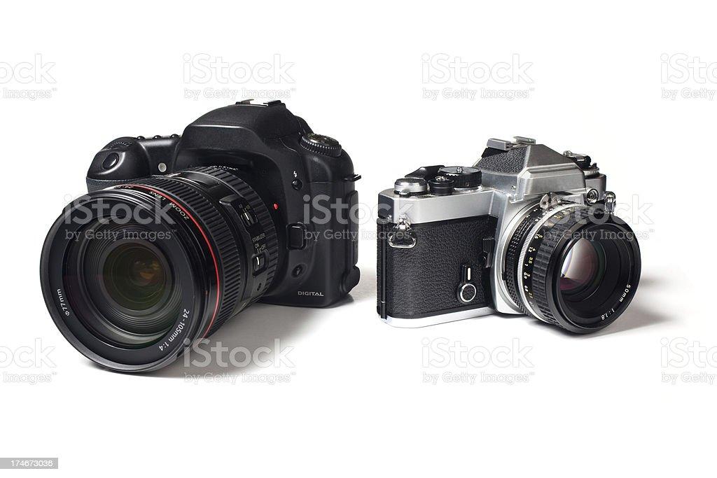 Cameras stock photo