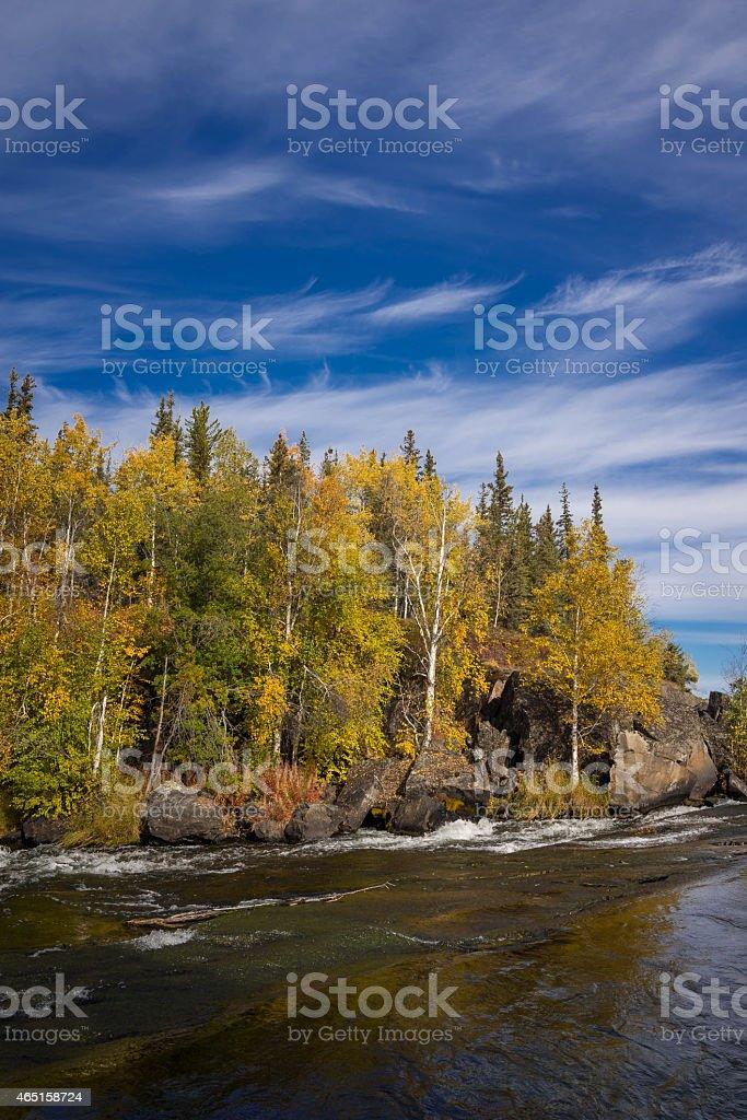 Cameron Falls, Northwest Territories 2 stock photo