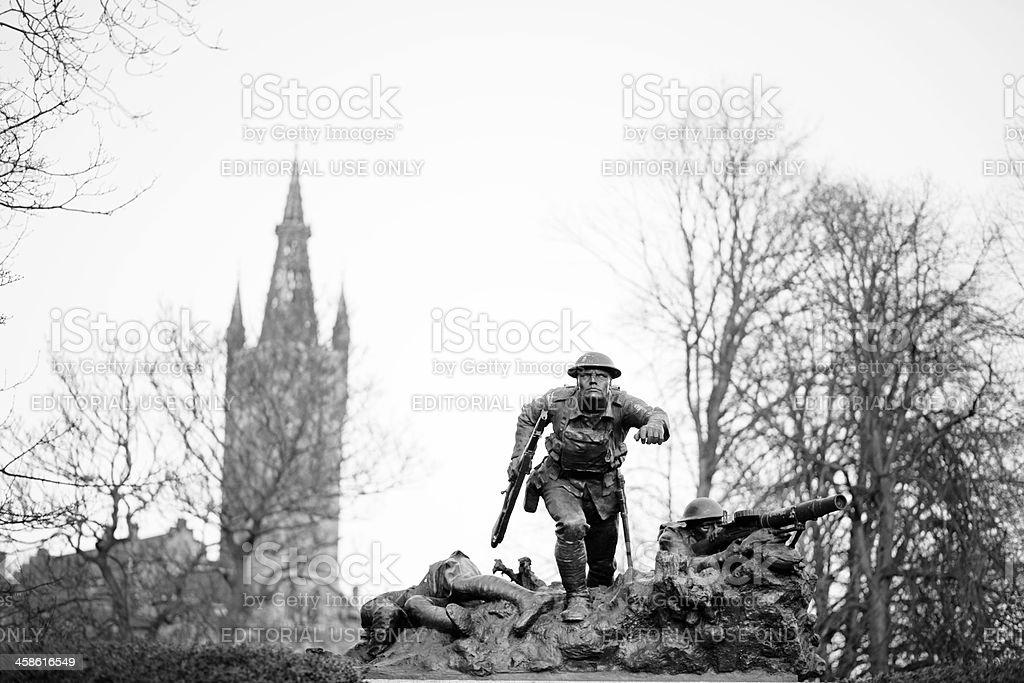 Cameronian animée War Memorial, de Glasgow - Photo