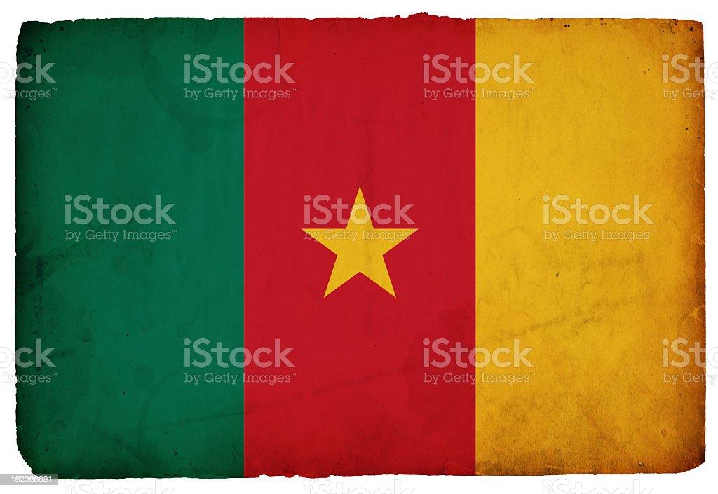 Cameroon Flag (XXXL) royalty-free stock photo