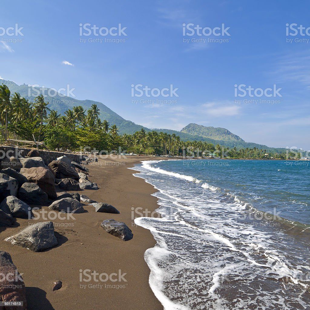 Camiguin rocks royalty-free stock photo