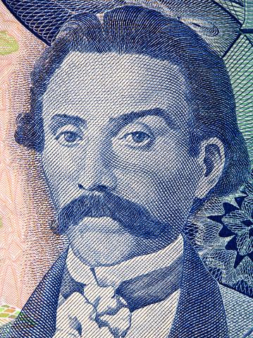 카밀로 카스텔로 브 랑 쿠 초상화 금융에 대한 스톡 사진 및 기타 이미지