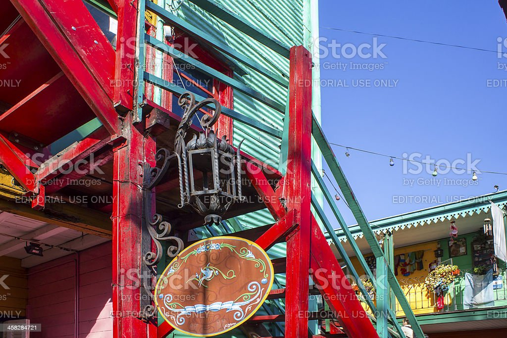 Caminito royalty-free stock photo